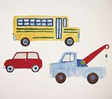 Pottery Barn Kids Transportation Decal Set of 3