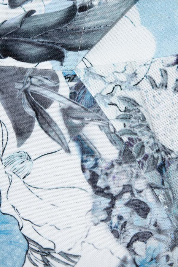 Erdem Isis floral-print piqué dress