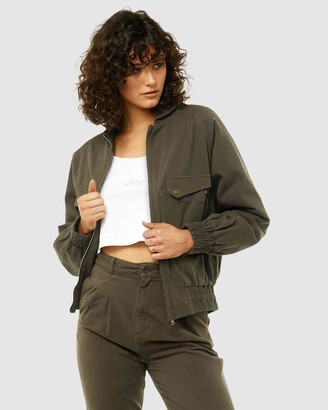 Rusty Women's Jackets - Upper Hand Jacket - Size One Size, 6 at The Iconic