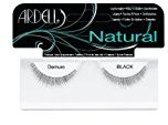 Ardell Fashion Lashes, Demure Black, 1 Pair (Pack of 2)
