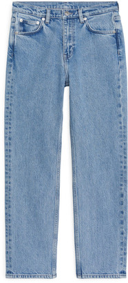 Arket REGULAR Stretch Cropped Jeans