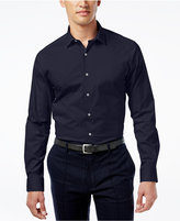 Alfani Slim Fit + Stretch Men's Dress Shirt, Only at Macy's