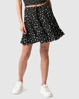 Forever New Lulu Tiered Mini Skirt