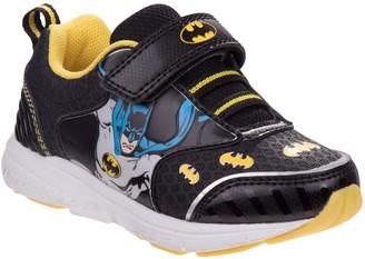 Batman DC Boys' Adjustable Sneakers