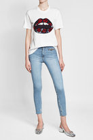 Markus Lupfer Cotton T-Shirt with Sequins