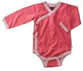 Baby Soy Kimono Bodysuit - Eggplant - 3-6 months