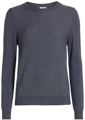 Peserico Lurex Wool Blend Sweater