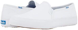 Keds Double Decker Canvas (White) Women's Shoes