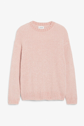 Monki Velvet knit sweater