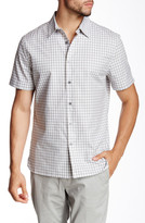 Perry Ellis Heather Checkered Shirt