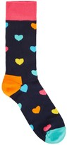 Happy Socks Heart Cotton Blend Socks