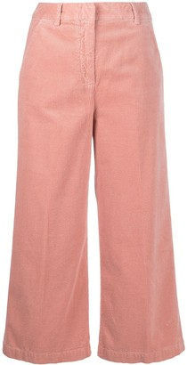 Aspesi Corduroy Cropped Trousers
