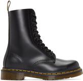 Dr. Martens Black Ten-Eye 1490 Boots