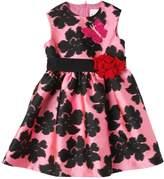 Lanvin Petite Floral Silk Blend Duchesse Party Dress