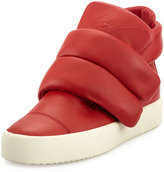 Giuseppe Zanotti Two-Strap High-Top Sneaker, Red