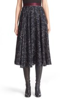 Roksanda Women's Dearden Silk Skirt