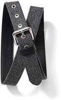 Old Navy Patterned Tweed Belt for Men