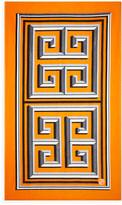 Jonathan Adler Greek Key Beach Towel - Orange