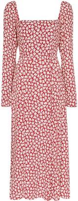 Reformation Sigmund floral-print midi dress