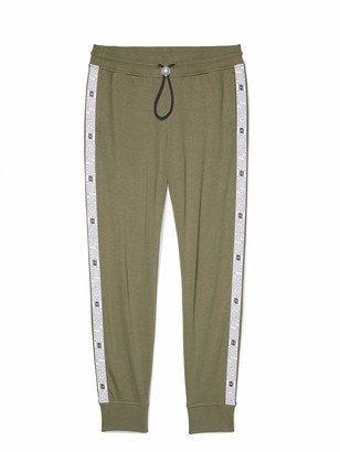 Tommy Hilfiger Women's Adaptive Logo Tape Jogger with One Handed Drawstring