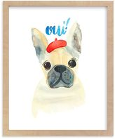 Pottery Barn Kids Frenchie Por Vous Wall Art by Minted(R) 8x10
