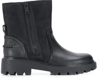 UGG Panelled Ankle Boots