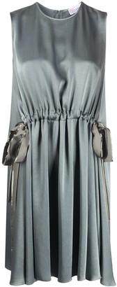RED Valentino Drawstring Waist Dress