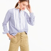 J.Crew Collection Thomas Mason® for shirt with grosgrain bib