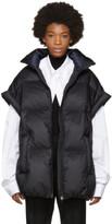 Maison Margiela Black Nylon Puffer Vest