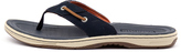 Sperry Baitfish thong Navy-tan Sandals Mens Shoes Casual Sandals-flat Sandals