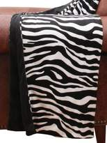 Thro By Marlo Lorenz Zoe Zebra Printed Microplush Throw