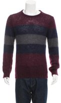 Gucci Colorblock Mohair Sweater