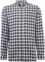 Jack and Jones Men's Check Long-Sleeve Cotton Shirt