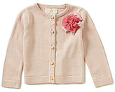 Kate Spade Baby Girls 12-24 Months 3D-Rosette Cardigan Sweater