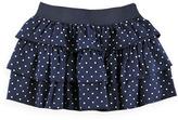 Pumpkin Patch Tiered Spot Skirt