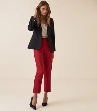 Reiss NEYA TEXTURED TAILORED BLAZER Navy