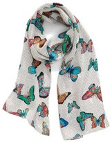 Echo Women's Butterfly Silk Scarf