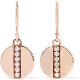 Ippolita Senso® Stardust 18-karat Rose Gold Diamond Earrings - one size
