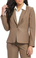 Alex Marie Ellie Two-Tone Twill Suiting Jacket