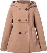 Richie House Girl's Microfleece Jacket with Decorative Buttons RH1064-B-3/4