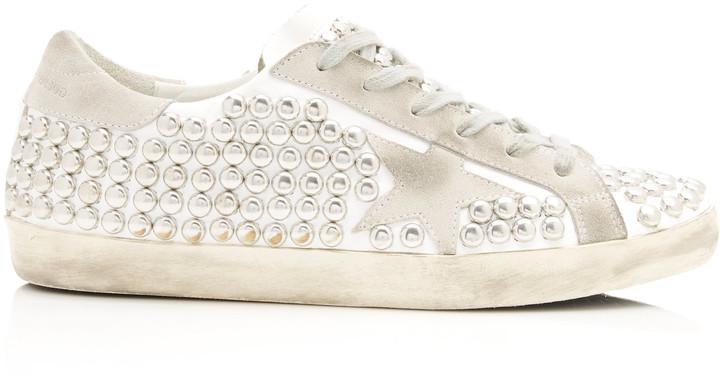 Golden Goose Studded Sneaker | Shop the