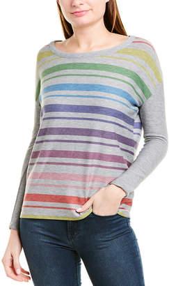 Chaser Rainbow Stripes Hoodie