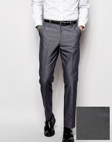Asos Slim Fit Suit Pants With Tipping