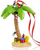 Holiday Lane Christmas Palm Tree with Christmas Lights Ornament, Created for Macy's