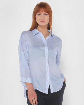 Privilege Women's White Shirts & Blouses - Cruise Shirt - Size One Size, 8 at The Iconic