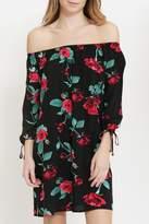 AVVIOLA Floral Off Shoulder Dress
