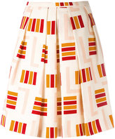 Eggs - striped midi skirt - women - Cotton/Acetate/Viscose - 40