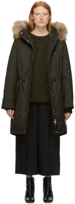 Mackage Green Down and Fur Rena Parka