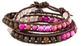 Chan Luu Multistone Wrap Bracelet