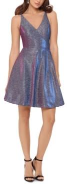 Xscape Evenings Glitter Fit & Flare Dress